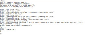 ip address code