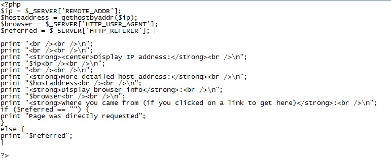 how to know your own ip address